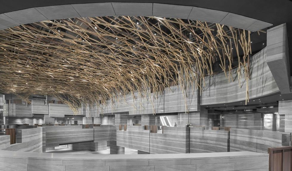 Centrum wystawiennicze The HUB w Szanghaju